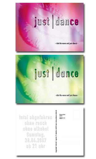 Just Dance (Postkarte)