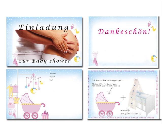 Baby shower (Einladung)