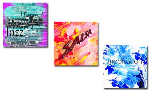 Jazz/Salsa/Meditation (CD Cover/Umschlag)