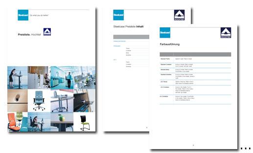 Steelcase (Kundenkataloge)